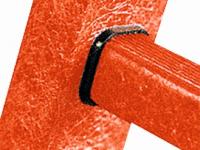 EFA B celoplastový stojací žebřík