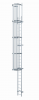 Výstupové žebříky s přímým výstupem (do 10 m)