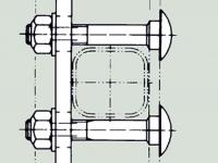 Upevnění kolejničky na příčle žebříku