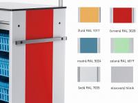 barevné boční stěny