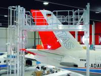 Ground Support - údržbové schody pro letadla