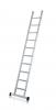 Saferstep L stupňový opěrný žebřík, eloxovaný