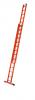 Skyline EFA 2E celoplastový žebřík s lanem