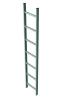 Šachtový žebřík, pozinkovaná ocel