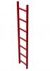 Šachtový žebřík, plast GFK